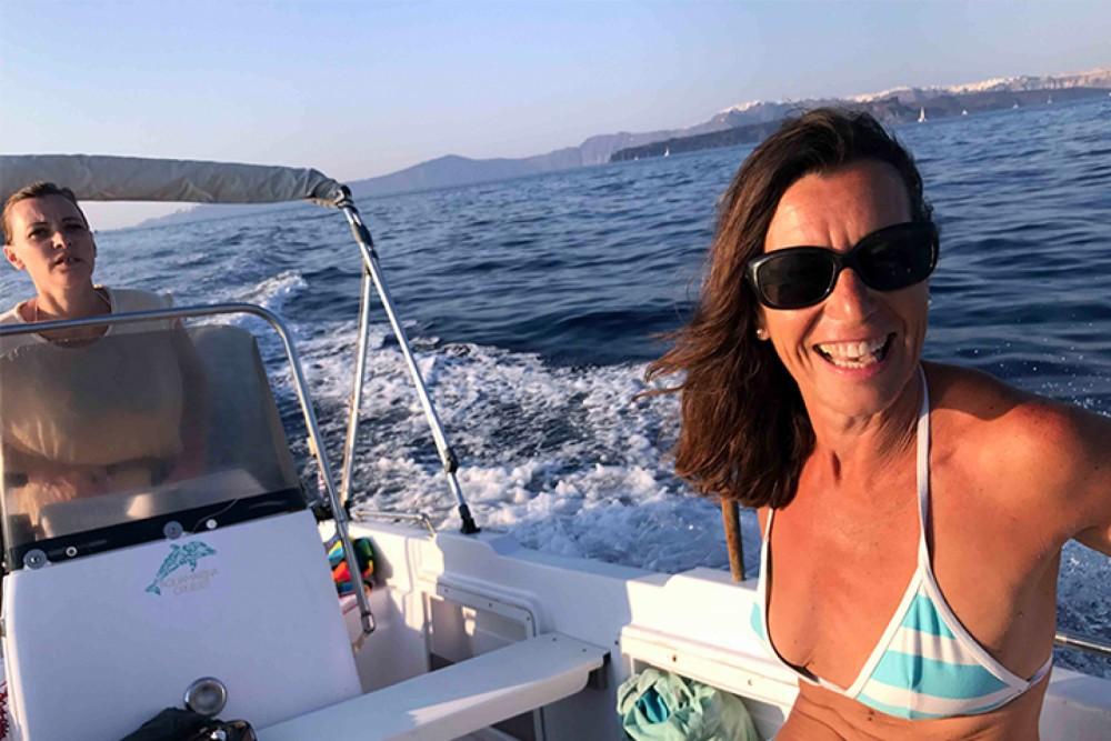 Boat rental Volos Marine Jason 4460 in Aegean on Samboat
