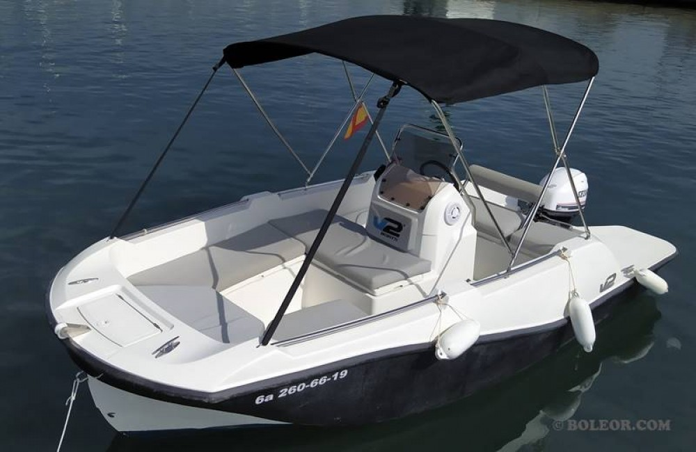 Hire Motorboat with or without skipper Boleor Palma
