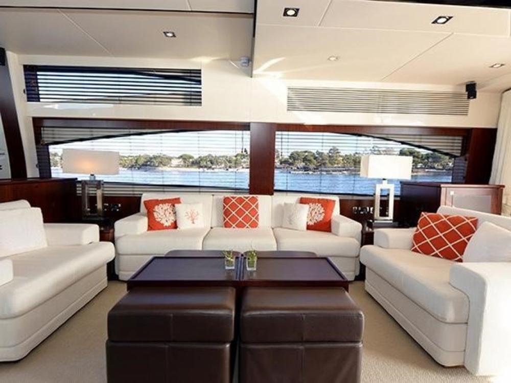 Rental Yacht in Sant Antoni de Portmany - Sunseeker Predator 84