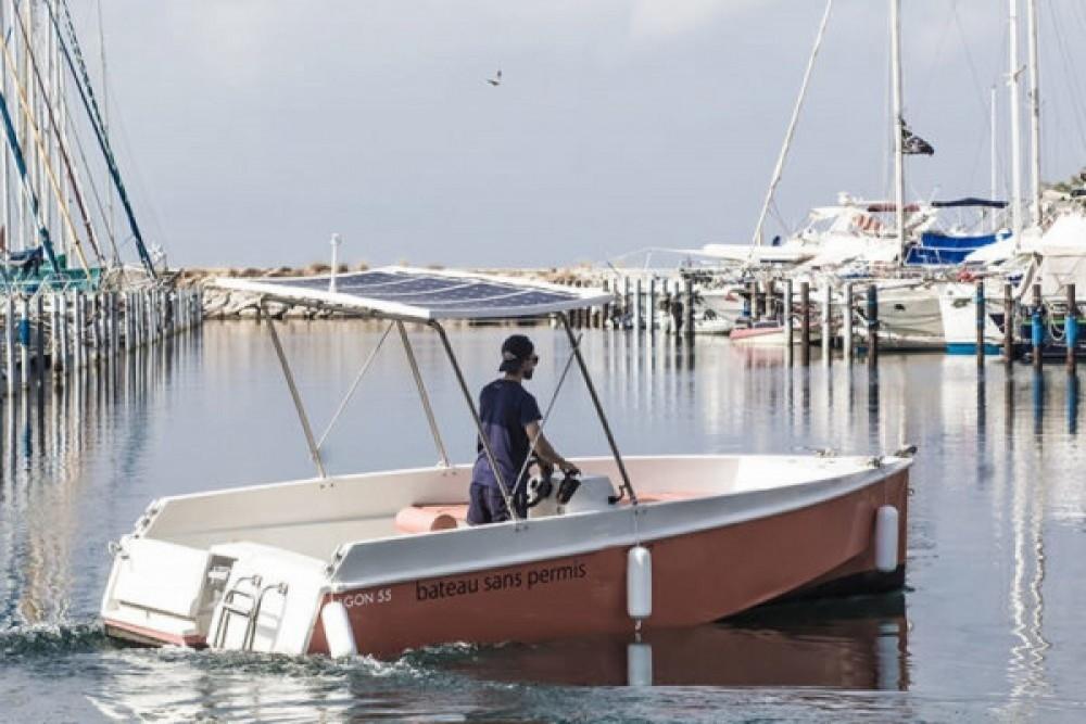 Rental Motor boat in Palavas-les-Flots - A-E  Lagoon 55