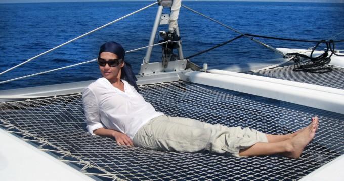 Boat rental Ibiza Island cheap Lagoon 380