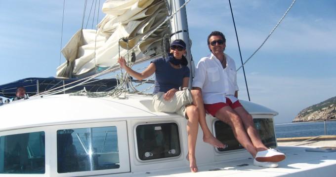 Hire Catamaran with or without skipper Lagoon Ibiza Island