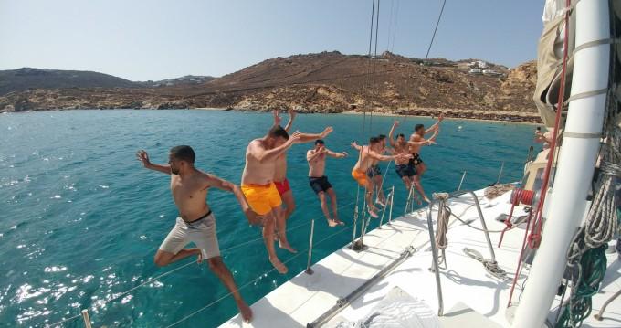 Rental Sailboat in Ornos - SWAN 52ft