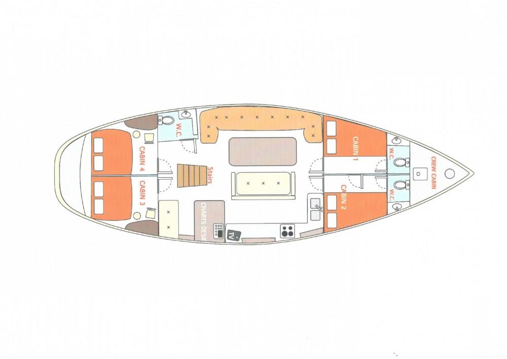 Rental Sailboat in Aegean - SWAN 52ft