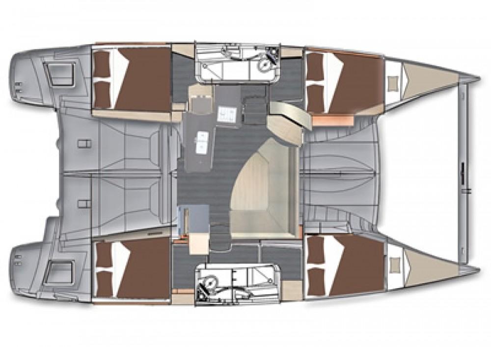 Rental yacht Paraty - Foutaine-Pajot LIPARI 41 EVOLUTION on SamBoat