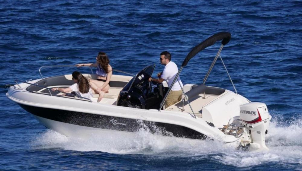 Boat rental Roses cheap 570 Open