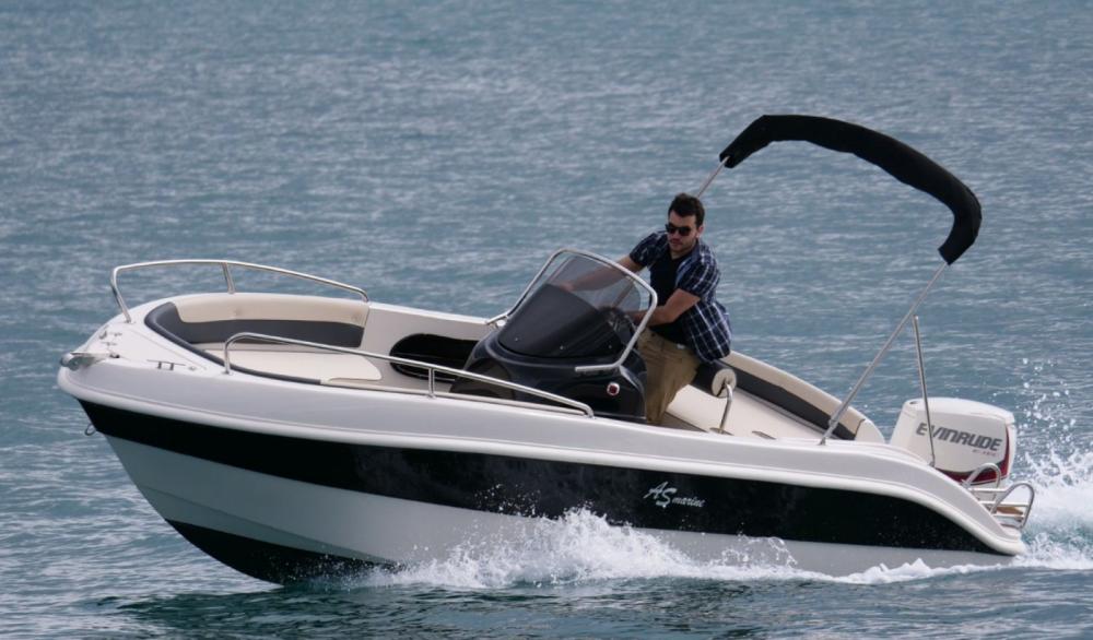 Rental Motor boat in Roses - As Marine 570 Open