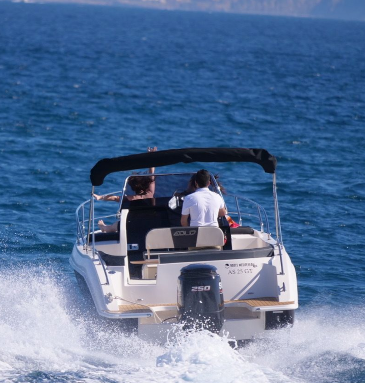 Hire Motor boat with or without skipper As Marine Roses