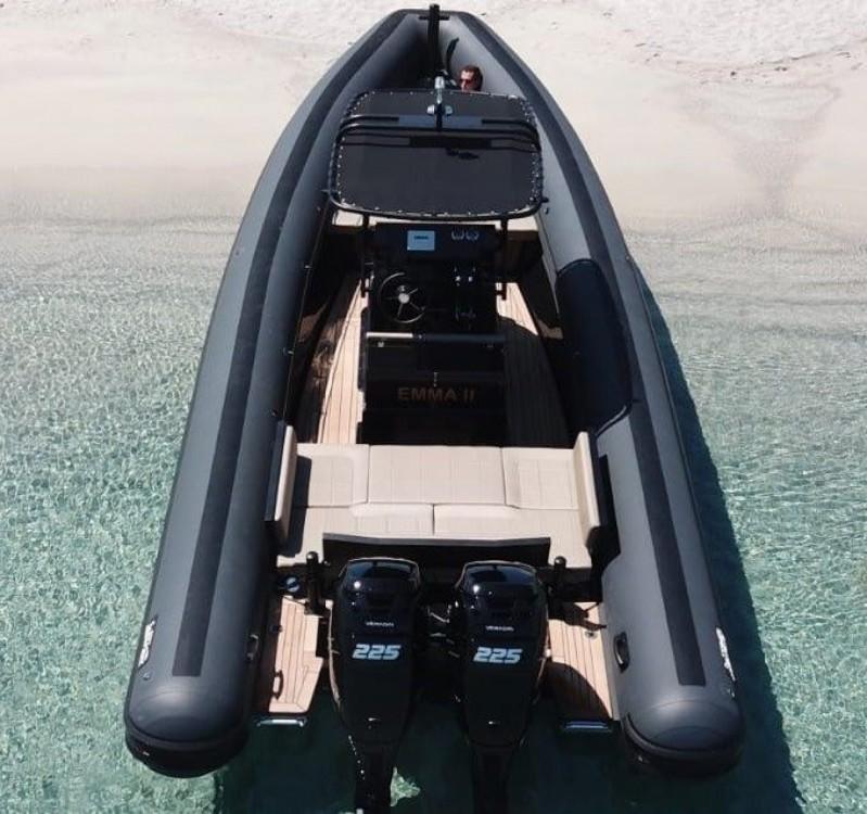Rental RIB in Cogolin - Sea Water 280 Smeralda