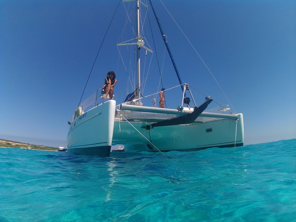 Fountaine Pajot Belize 43 between personal and professional Eivissa