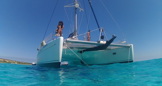 Hire Catamaran with or without skipper Fountaine Pajot Ibiza Island