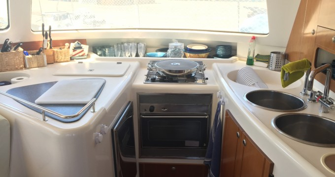 Fountaine Pajot Belize 43 between personal and professional Ibiza Island