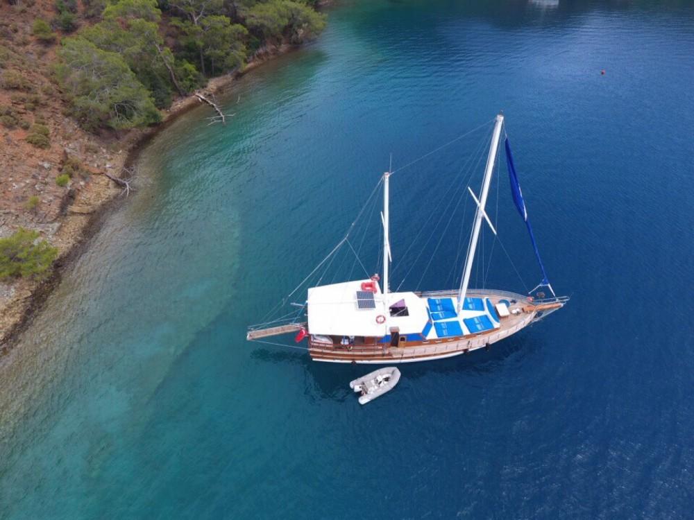 Rental Sailboat in  - Wooden Goulet 57feet