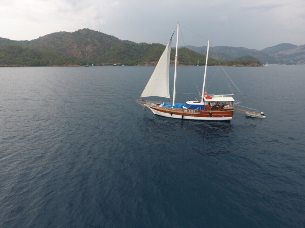 Rental yacht  - Wooden Goulet 57feet on SamBoat