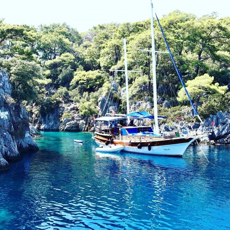 Boat rental Wooden Goulet 57feet in Muğla on Samboat