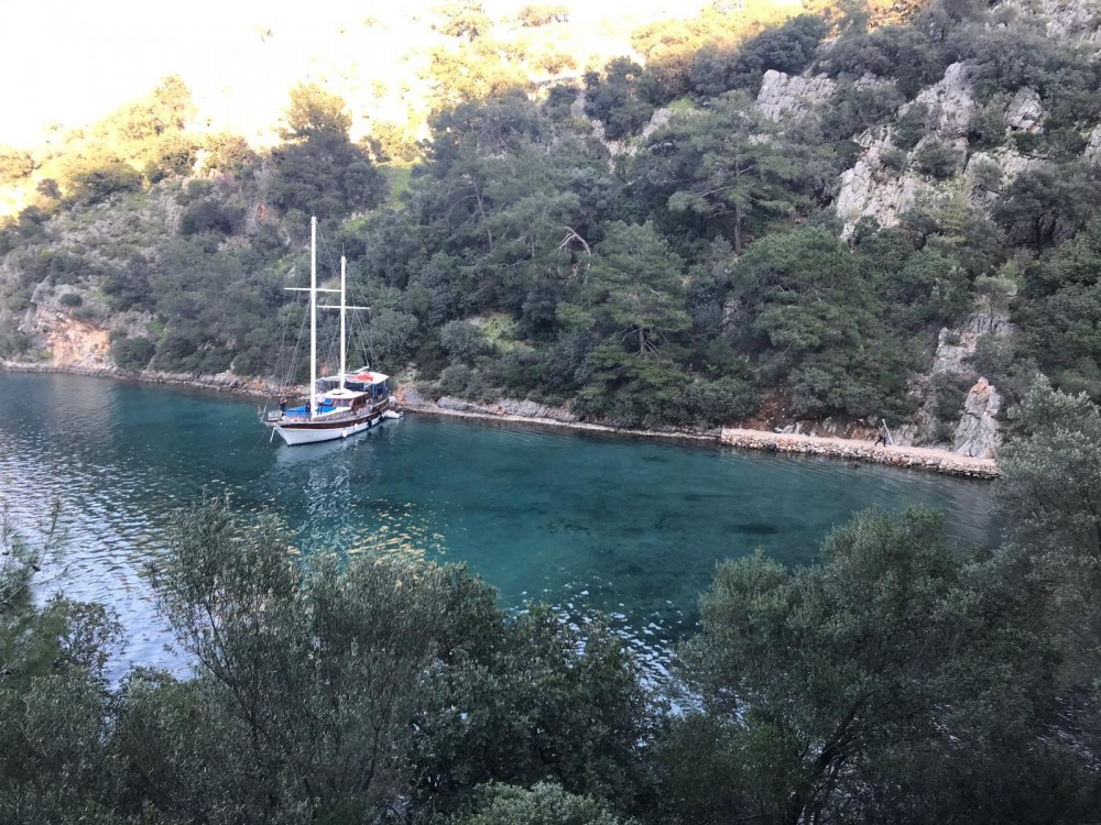 Rental Sailboat in Muğla - Wooden Goulet 57feet