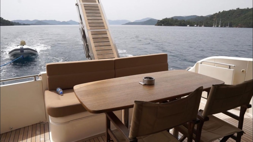 Fairline Squadron 55 between personal and professional Aegean Region