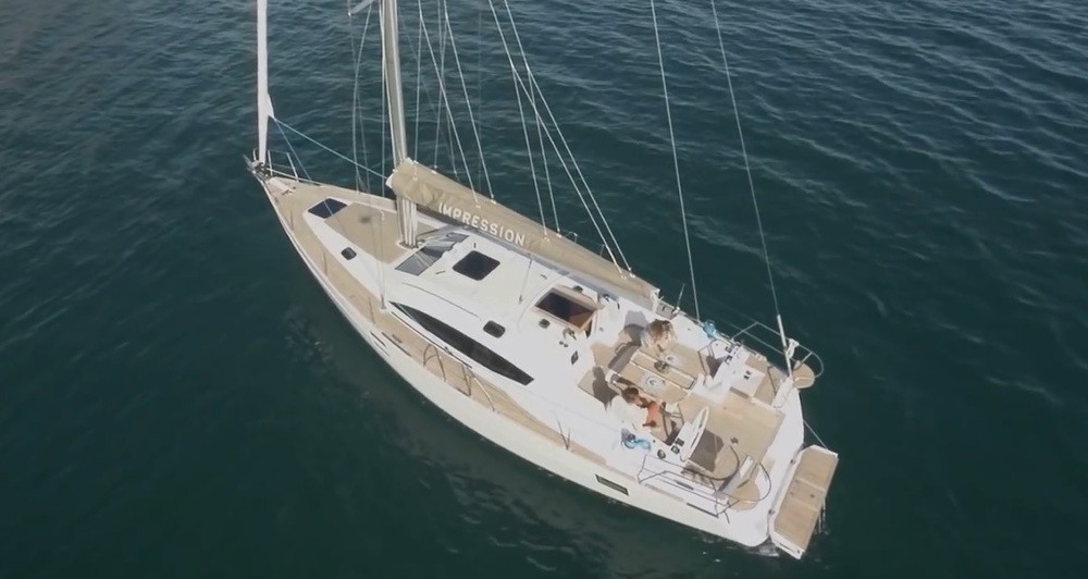 Boat rental Slovenia cheap Elan Impression 45