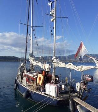 Rental Sailboat in Agios Kirykos - Van de Stadt Eems Yawl