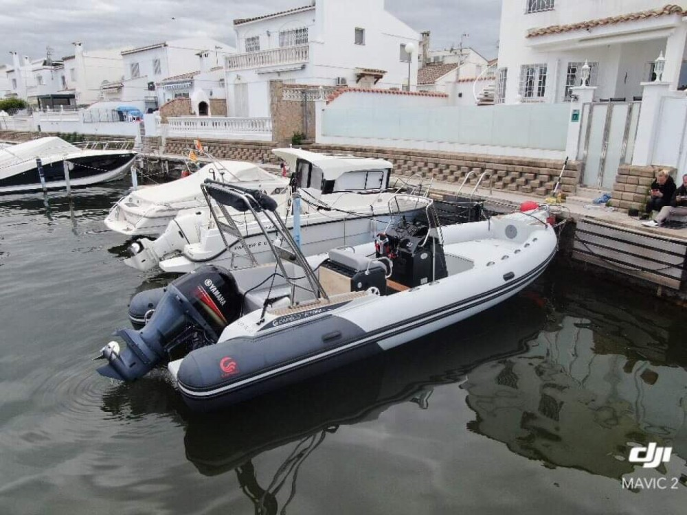 RIB for rent Castelló d'Empúries at the best price