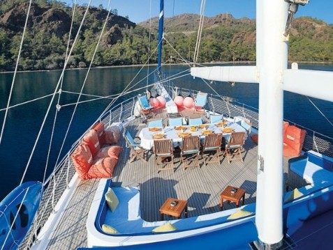 Hire Yacht with or without skipper KECH Marmaris