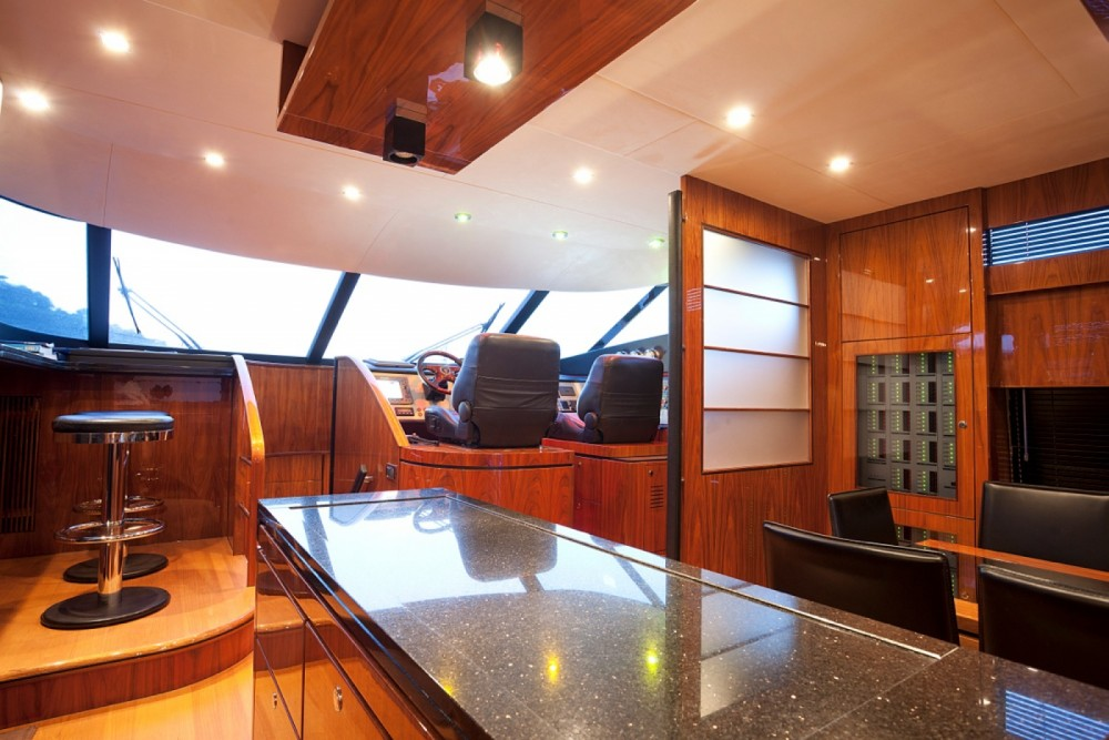 Fairline Squadron 78 between personal and professional Sorrento