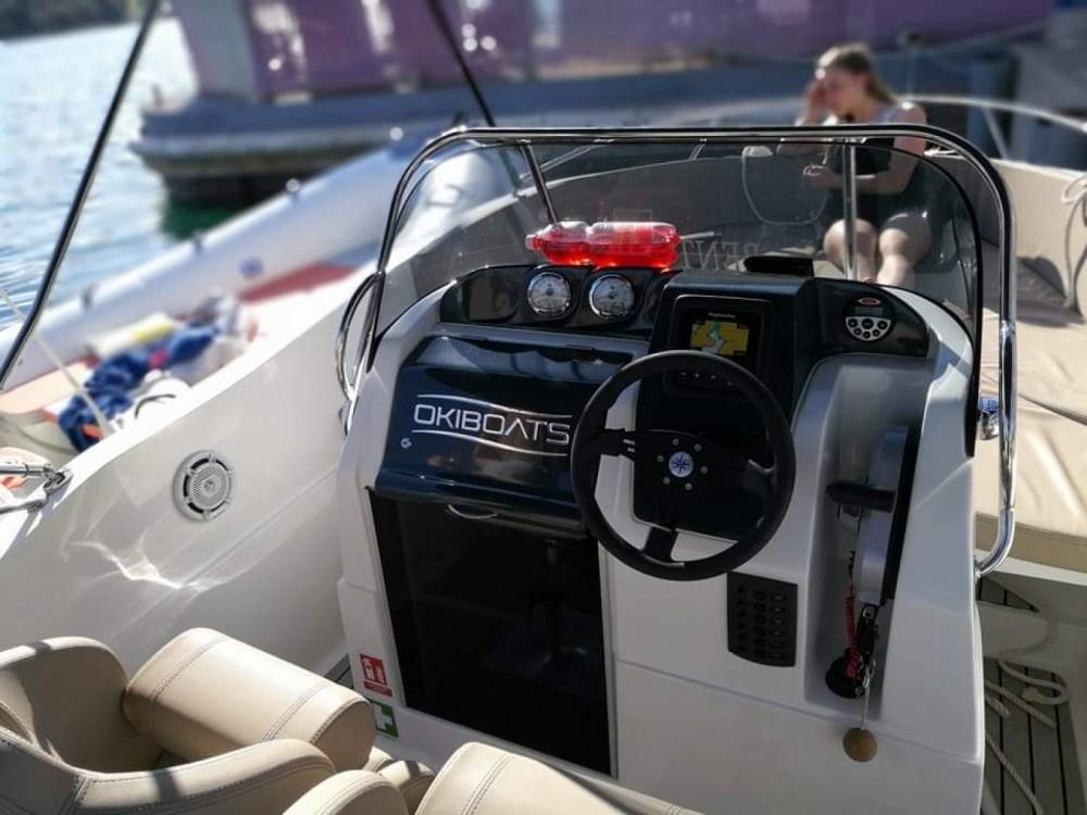 Rent a Okiboats Barracuda 545 Open Pula