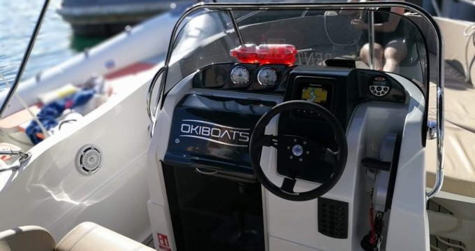 Hire Motorboat with or without skipper Okiboats Pula