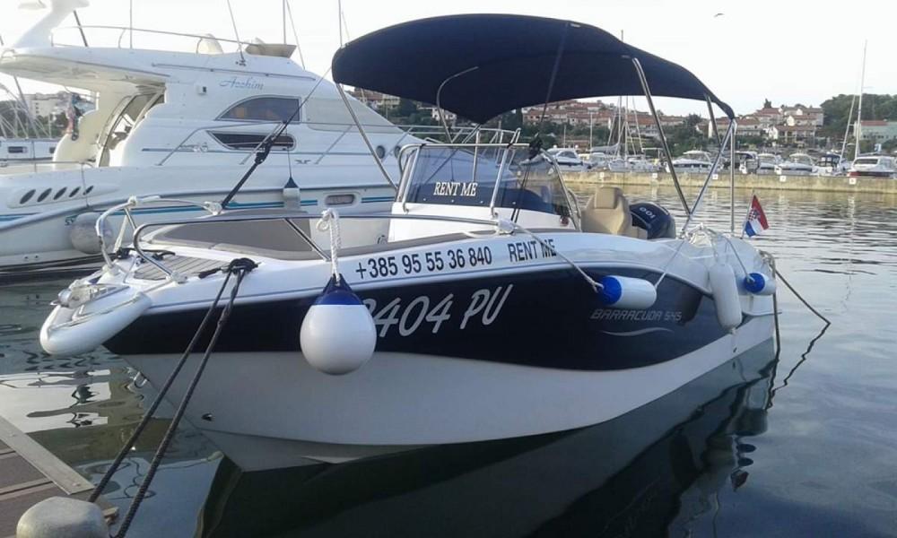 Boat rental Pula cheap Barracuda 545 Open