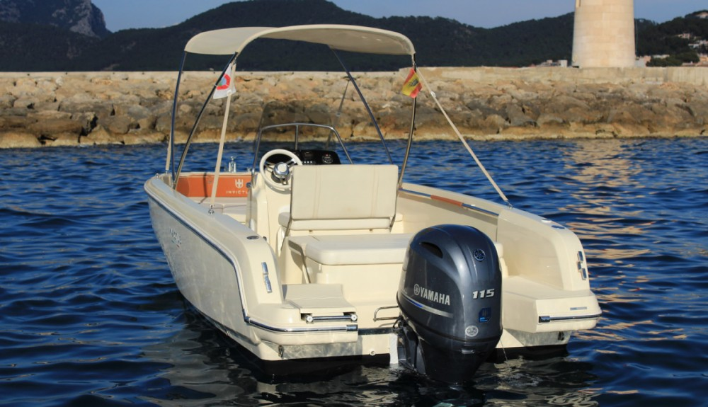 Boat rental Andratx cheap Invictus 190 FX