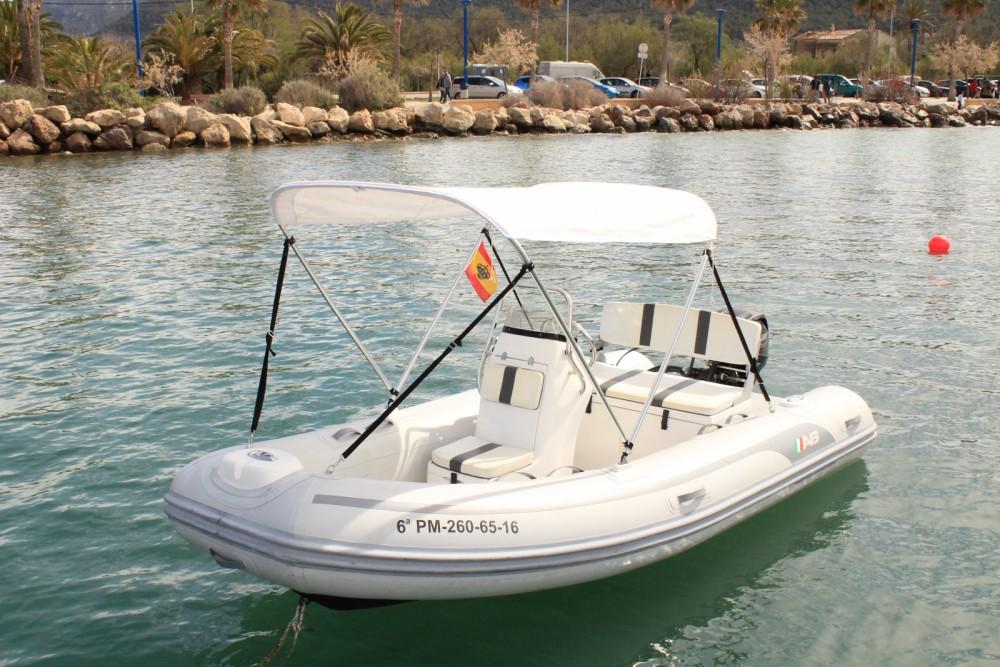 Rental yacht Andratx - Ab-Marine AB MARINE 13 on SamBoat