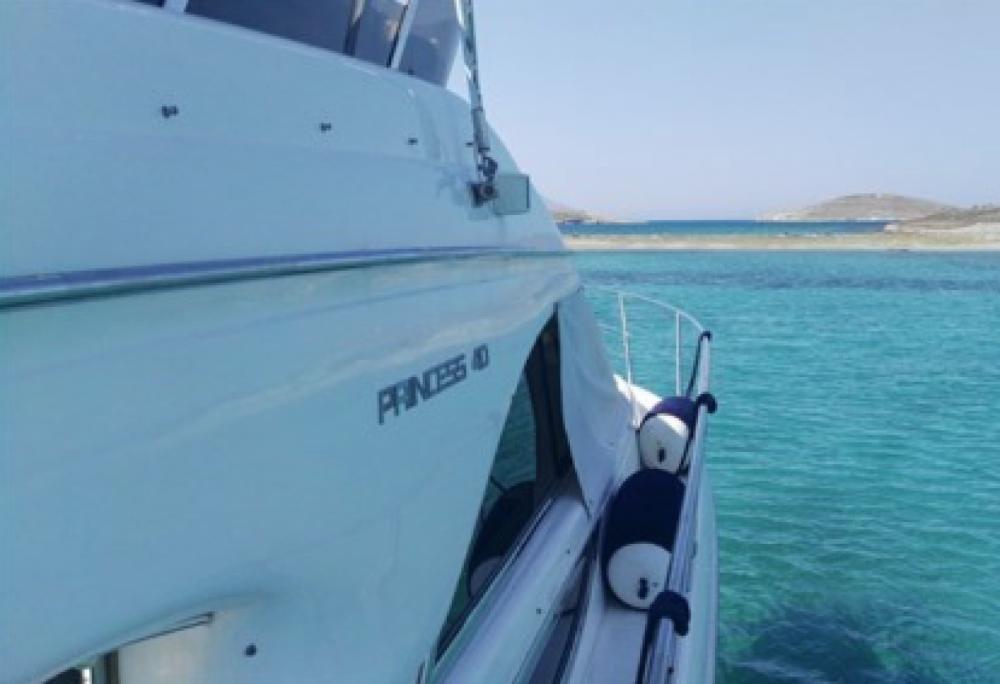 Princess Princess 40 Fly between personal and professional Aegean
