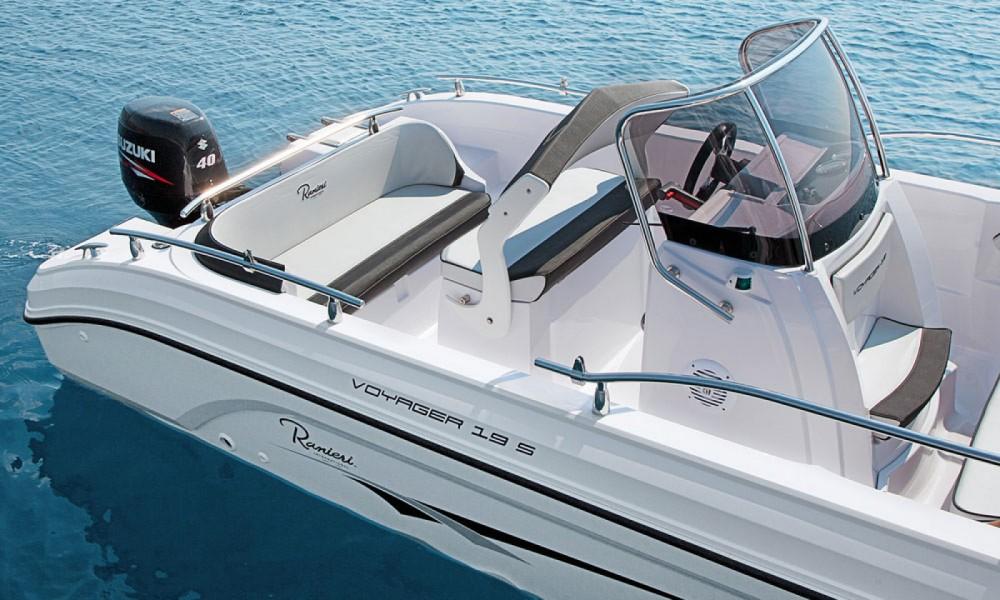 Rental Motor boat in Manerba del Garda - Ranieri Voyager 19 S