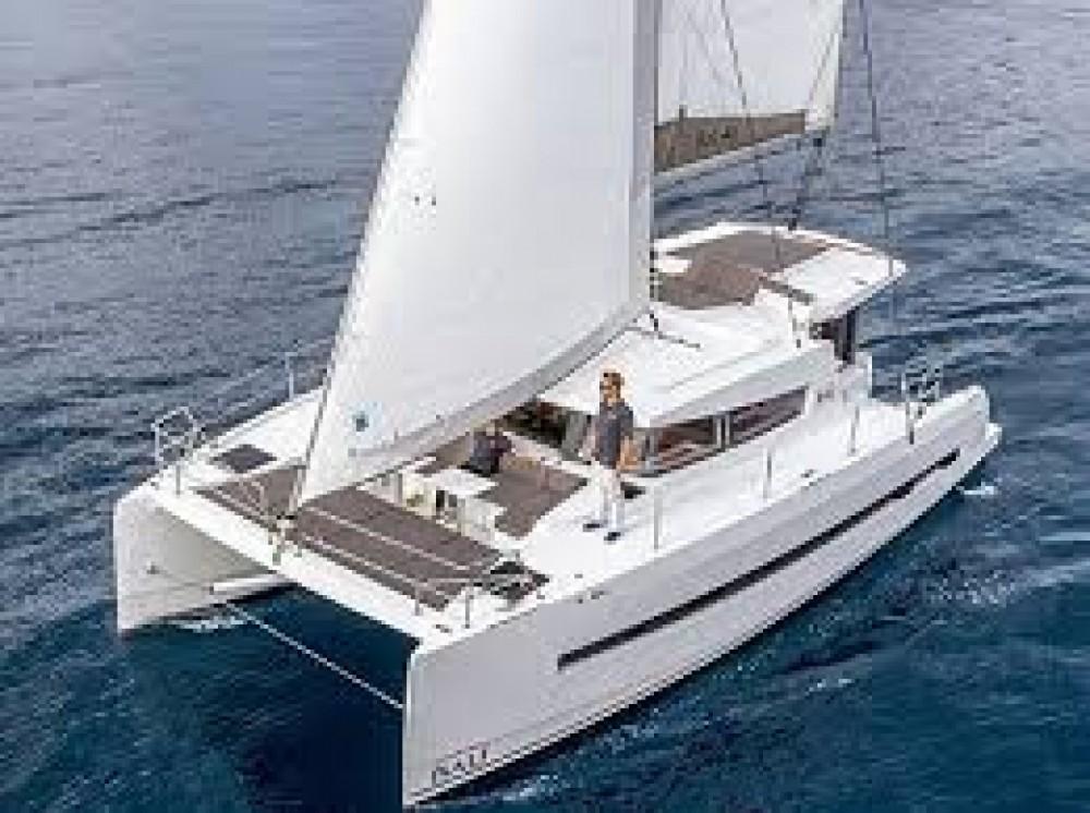 Bali Catamarans Bali 4.1 between personal and professional Palma