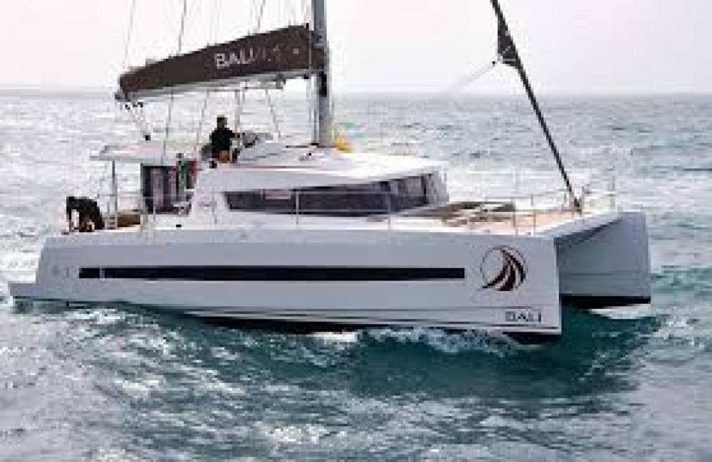 Rental Catamaran in Teguise - Bali Catamarans Bali 4.1