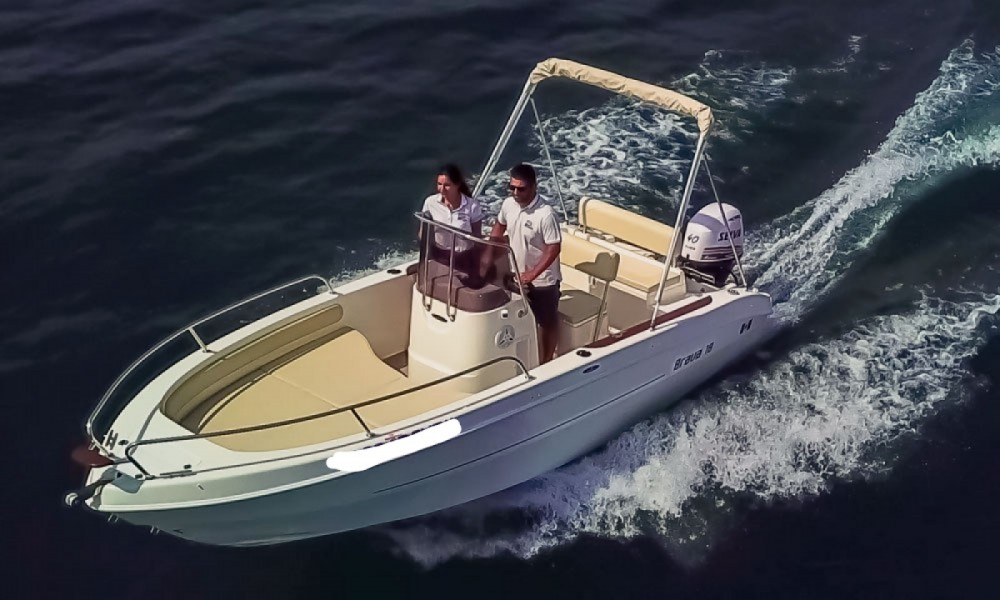Rental Motor boat Mingolla with a permit