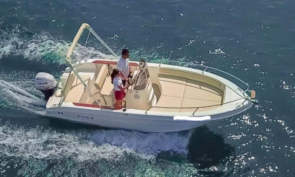 Rental Motor boat in Manerba del Garda - Mingolla Brava 18