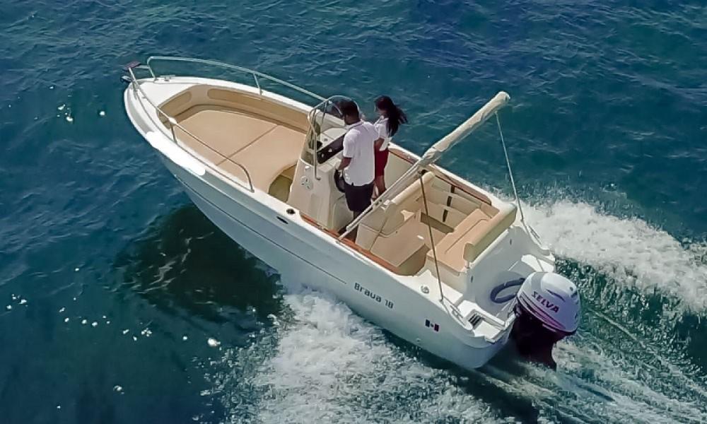 Boat rental Manerba del Garda cheap Brava 18