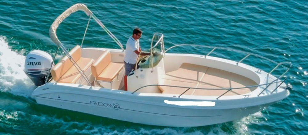 Hire Motor boat with or without skipper Capelli Manerba del Garda