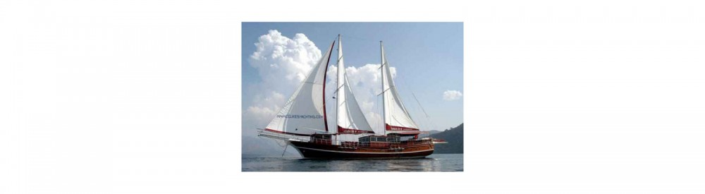 Rent a Gulet Ketch - Deluxe Aegean Region