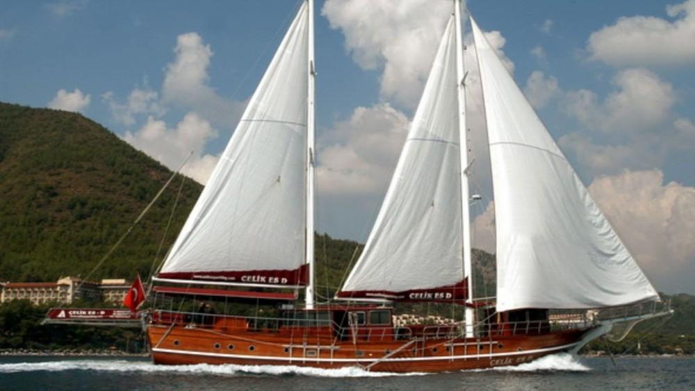Rental Sailboat in Aegean Region - Gulet Ketch - Deluxe