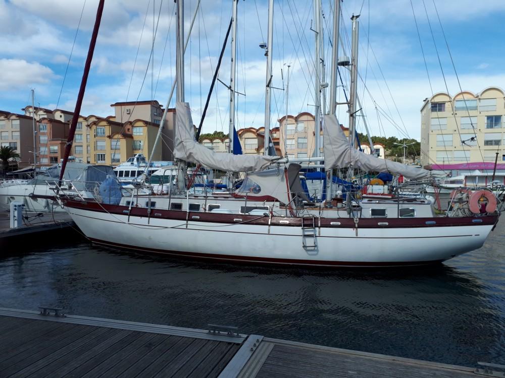 Boat rental Vendres cheap ketch43TDM