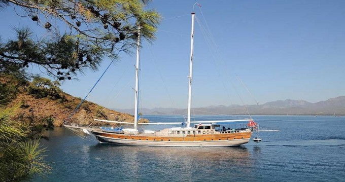 Hire Sailboat with or without skipper Gulet Göcek