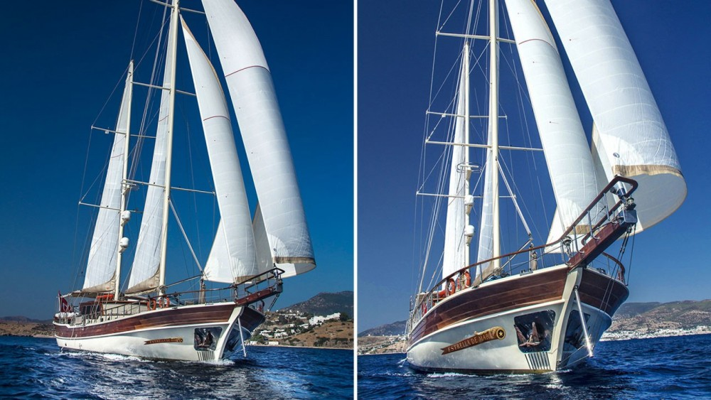 Rental Sailboat in Aegean Region - Gulet Ketch Ultra - Deluxe