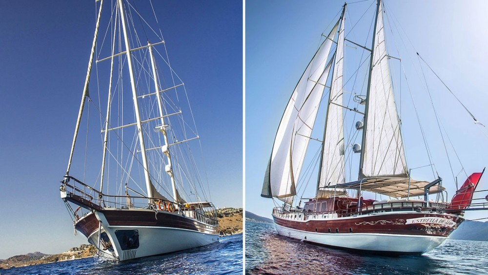 Rent a Gulet Ketch Ultra - Deluxe Aegean Region