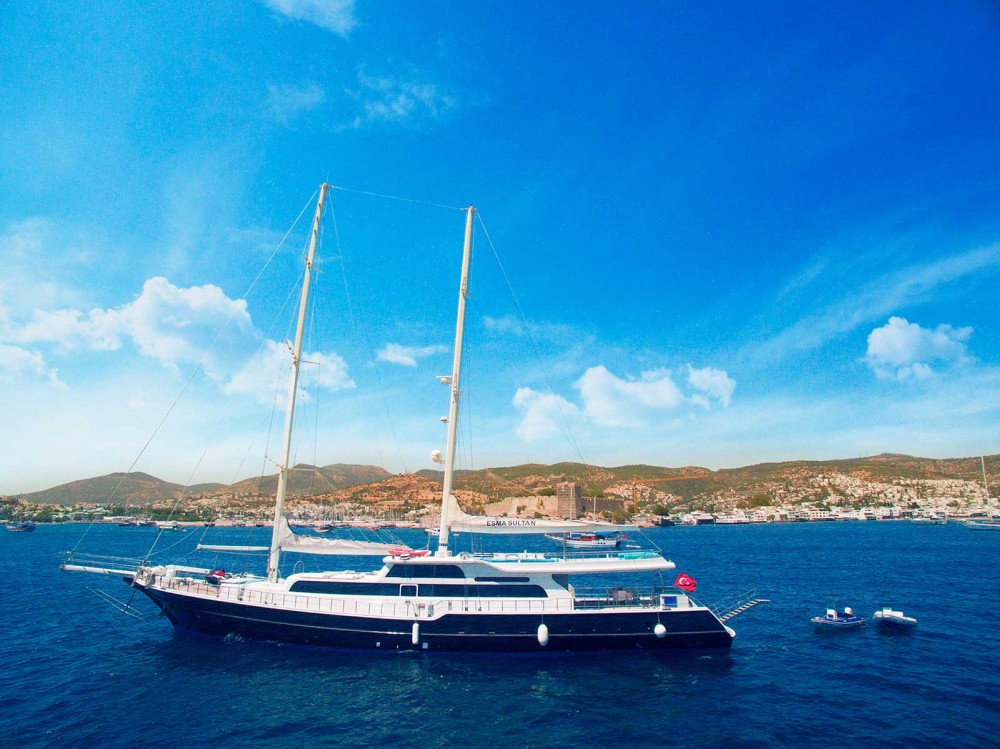 Hire Sailboat with or without skipper Gulet Muğla