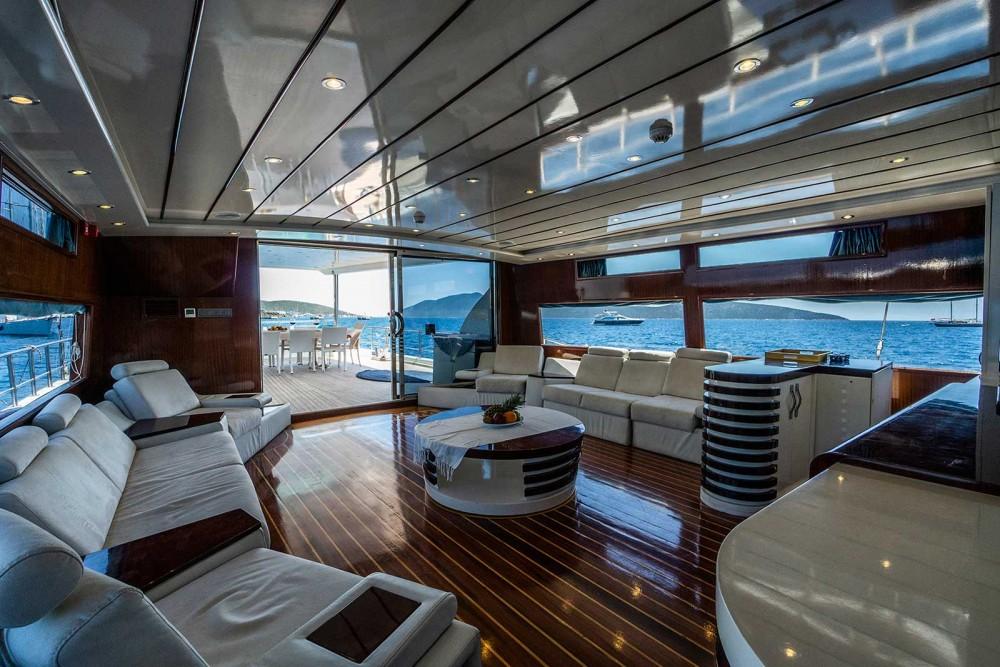 Rental Sailboat in Aegean Region - Gulet Ketch Ultra - Deluxe