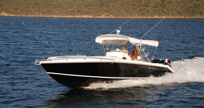 Boat rental Saint-Tropez cheap 360 CUDDY