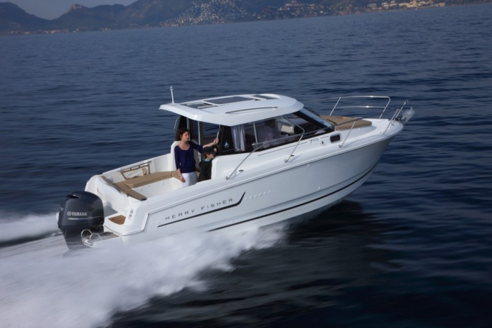 Jeanneau Merry Fisher 755 between personal and professional Dubrovnik