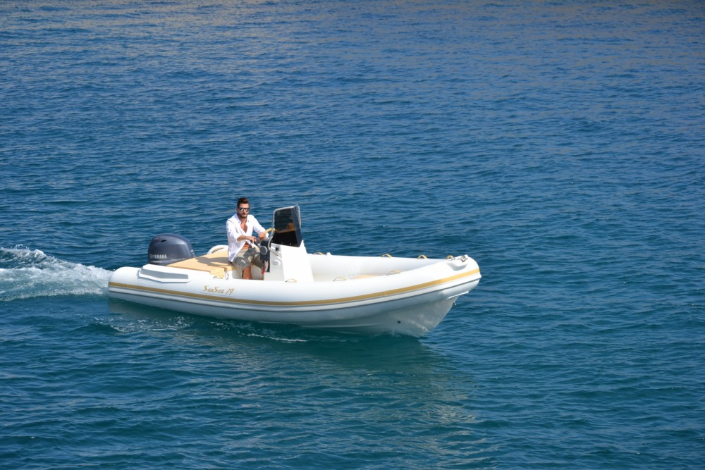 Rental RIB in Palermo - Sunsea 19